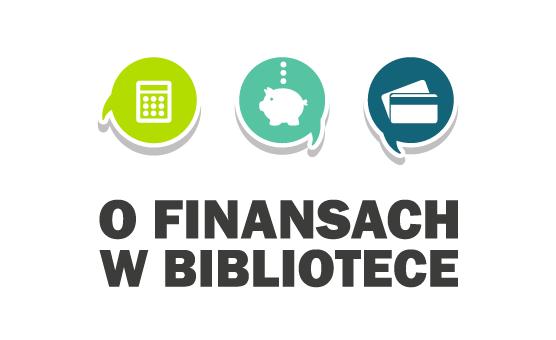 O finansach... w biblitoece logo