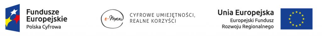 e-Mocni: informacja o współfinansowaniu projektu ze środków Unii Europejskiej