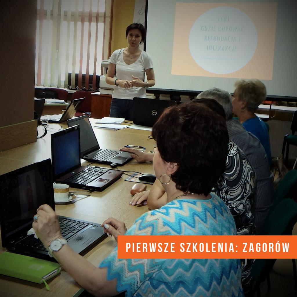 szkolenie e-Mocni w Zagórowie